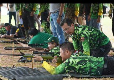 Sosialisasikan Olahraga Menembak di Sumsel (Lapangan Tembak Brimob Polda Sumsel, Talang Kelapa Palembang