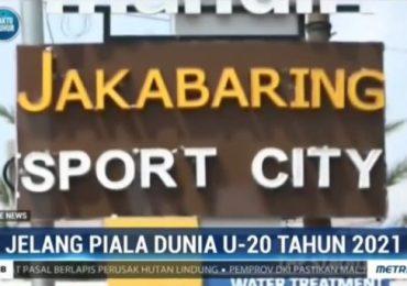 Stadion Gelora Sriwijaya jakabaring resmi ditunjuk PSSI persiapan piala dunia u-20 2021